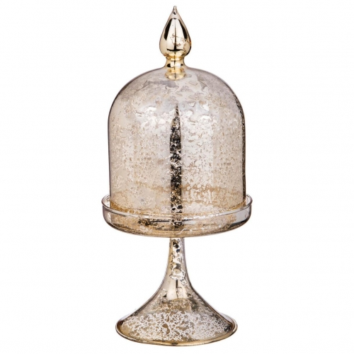 Ваза Арти М 862-164 Конус 11*24 см античное золото