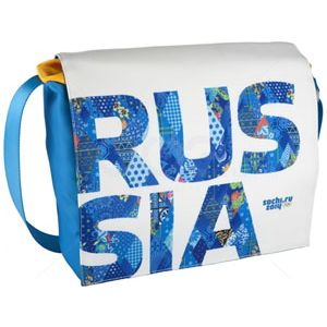 "Сумка для ноутбука СОЧИ 2014 RUS-MS15-B 13-14"" blue"