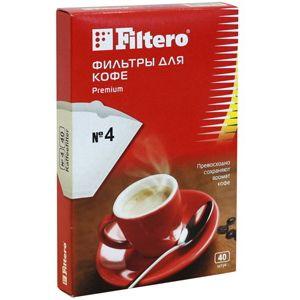 Фильтры для кофеварок Filtero №4/40