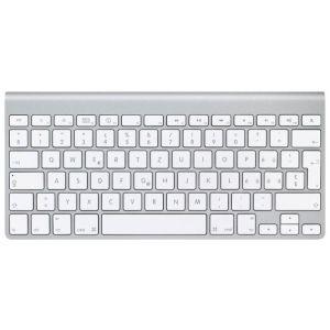 Клавиатура Apple Wireless Keyboard MC184 White Bluetooth