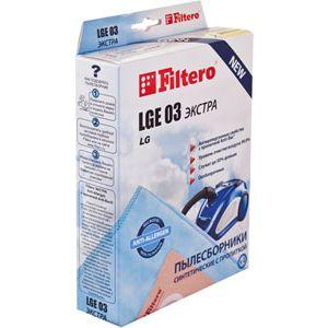 Пылесборник Filtero LGE 03 (4) ЭКСТРА