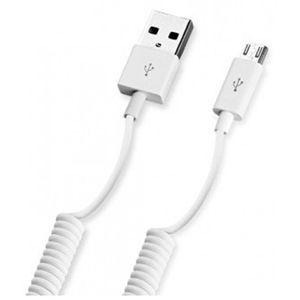 Кабель для телефона Deppa Micro-USB-USB 1.5 м white