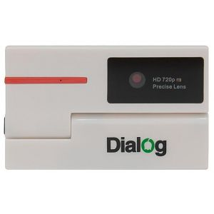 Веб-камера Dialog WC-51 white-red