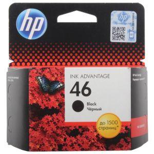 Картридж для струйного принтера HP 2020hc / 2520hc №46 CZ637AE black