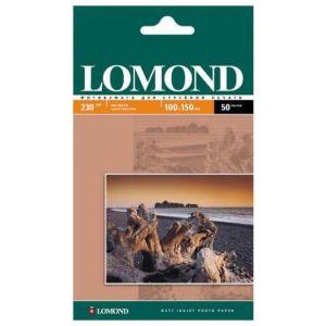 Фотобумага Lomond 10x15 230г/м,50л., матовая