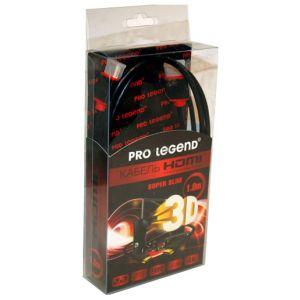 Видеокабель Pro Legend HDSL1 HDMI - HDMI 1 метр