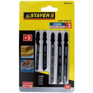 Пилки для лобзика STAYER 15980-H5-3