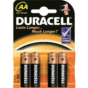 Батарейка Duracell AA MN1500K4