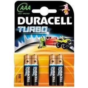 Батарейка Duracell AAA K4 TurboMax