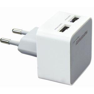 Сетевое зарядное устройство promate Hype.EU white