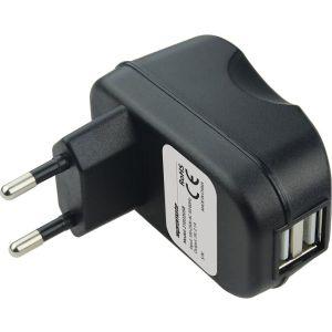 Сетевое зарядное устройство promate Surge-EU2 micro USB 2100 mA