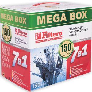 Средство для посудомоечных машин Filtero 704 7в1 150 шт