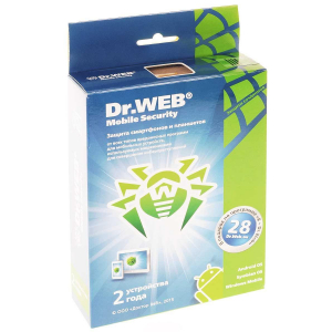 ������������ ��������� Dr. Web Mobile Security 2 ����/2 ����������