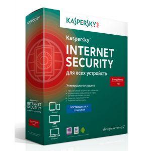 Антивирусная программа Kaspersky Internet Security Multi-Device Russian Edition 3 ПК 1 год