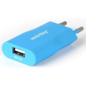 Сетевое зарядное устройство SmartBuy SBP-2750 SATELLITE Combo blue