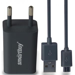 Сетевое зарядное устройство SmartBuy SBP-2850 TRAVELER Combo black