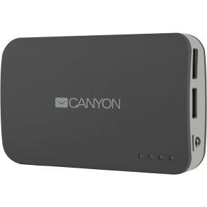 Портативный внешний аккумулятор Canyon CNE-CPB78 grey