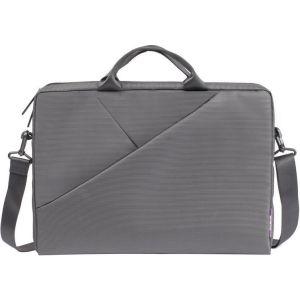 """Сумка для ноутбука Riva case 8731 15-16"""" grey"""