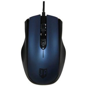 Мышь проводная Jet.A OM-U50 Black-Blue USB