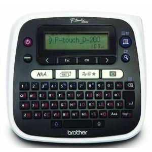 Струйный принтер Brother P-touch PT-D200VP черный/белый