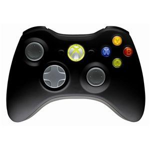 Геймпад для приставки Microsoft Xbox 360 беспроводной black (NSF-00002)