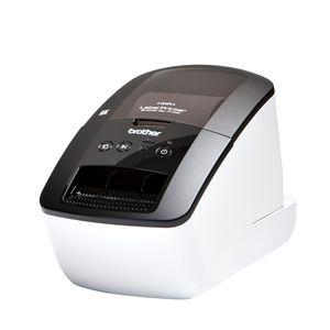 Принтер Brother QL-710W черный/белый