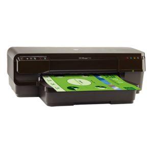 Струйный принтер HP OfficeJet 7110 WF чёрный
