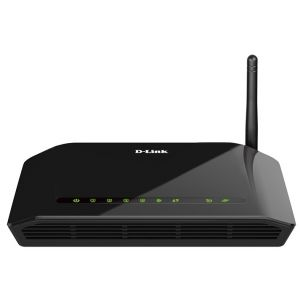 Wi-Fi роутер (маршрутизатор) D-Link DSL-2640U/RA/U2A чёрный