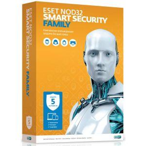 Антивирусная программа ESET Smart Security Family