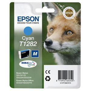 Картридж для струйного принтера Epson Stylus T1282 I/C cyan