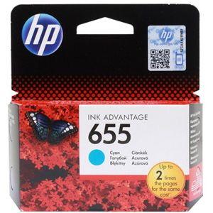 Картридж для струйного принтера HP №655 голубой