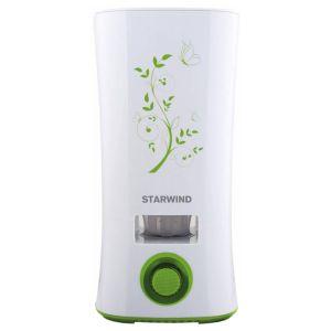 Увлажнитель воздуха Starwind SHC4210 белый/зеленый