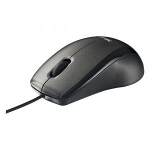 Мышь проводная Trust Carve Optical Mouse Black USB